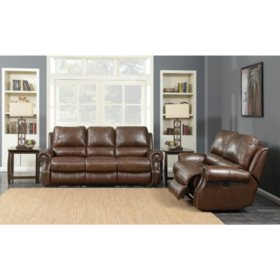 Incredible Williams Power Motion Loveseat Saddle Brown Sams Club Gmtry Best Dining Table And Chair Ideas Images Gmtryco