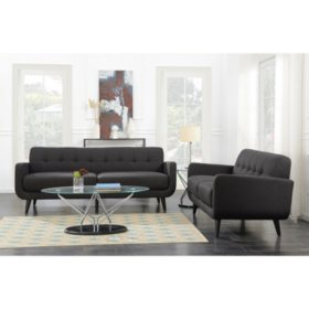 Hailey Sofa & Loveseat, Assorted Colors