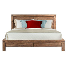 Joel King Panel Bed
