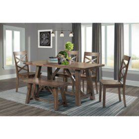 Reagan Dining Set, Various Colors