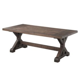 Flynn Trestle Coffee Table