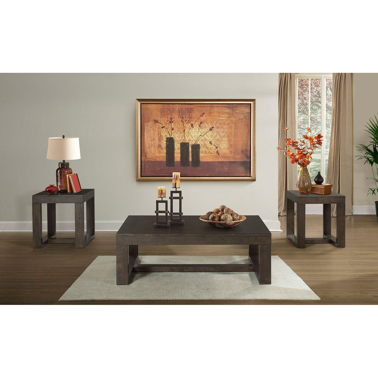 3-Piece Society Den Lexington Occasional Table Set