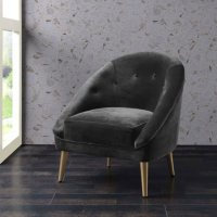 Taryn Accent Chair - Slate