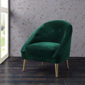Taryn Accent Chair - Emerald