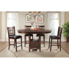 Sam Pub 5 Piece Dining Set
