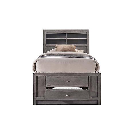 Madison Storage Platform Bed (Assorted Sizes)