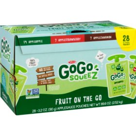 GoGo Squeez Applesauce Variety Pack (3.2oz., 28ct.)