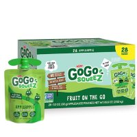 GoGo SqueeZ On The Go, Apple Apple (3.2 oz., 28 ct.)