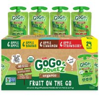 GoGo SqueeZ Organic Variety pack (3.2 oz., 24 ct.)