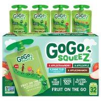 GoGo SqueeZ Applesauce, Apple/Cinnamon/Strawberry/GIMME Five (3.2 oz., 32 ct.)