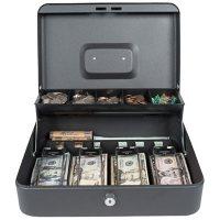 Royal Sovereign Tiered Tray Cash Box RSCB-400-ADBK