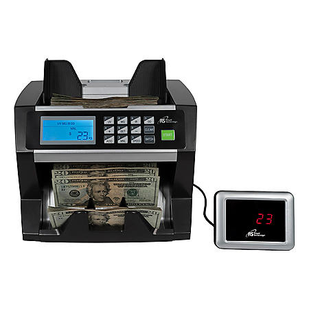 Royal Sovereign Digital Cash Counter, Holds Up To 500 Bills