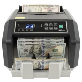 Royal Sovereign Back Load Bill Counter with 3Phase Counterfeit Detection - 1,400 Bills Per Minute