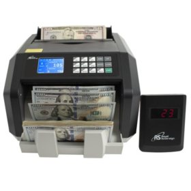 Royal Sovereign Back Load Bill Counter with 3Phase Counterfeit Detection and External Display - 1,400 Bills Per Minute