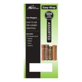 Royal Sovereign Assorted Coin Wrappers (504 pk.)