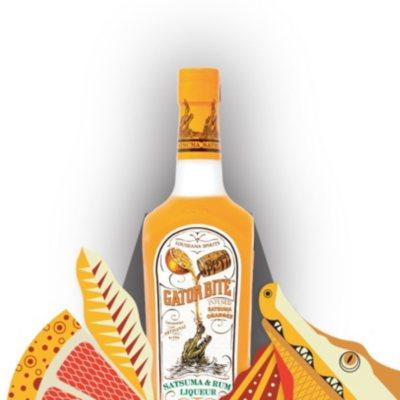 Gator Bite Satsuma Rum Liqueur 750 Ml Sam S Club