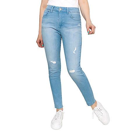 Seven7 Ultra High Rise Tummyless Skinny Jean