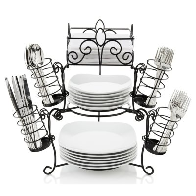 Inspiring Plate And Utensil Caddy Contemporary - Best Image Engine ... Inspiring Plate And Utensil Caddy Contemporary Best Image Engine  sc 1 st  Best Image Engine & Interesting Utensil And Plate Caddy Photos - Best Image Engine ...