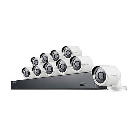 Samsung 16-Channel 4MP Surveillance System with 2TB