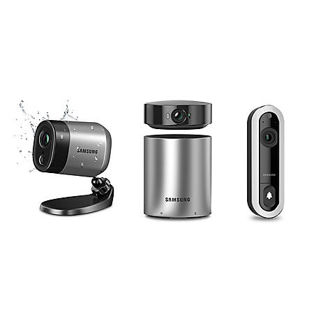 Samsung Smartcam A1 Home Security System D1 Video Doorbell With