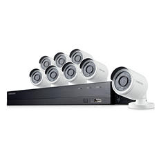 Samsung 16 Channel 1080p Hd Security System With 2tb Hard