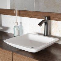 VIGO Linus Vessel Bathroom Faucet (Antique Rubbed Bronze)