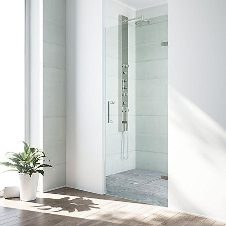 Vigo Soho Adjustable Frameless Shower Door