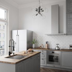 VIGO Edison Pull-Down Spray Kitchen Faucet (Stainless Steel ...