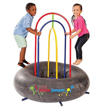 Jr. Jumper Trampoline with Safety Rails