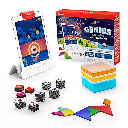 Osmo Genius Starter Kit for iPad, Math & STEM, Ages 6-10