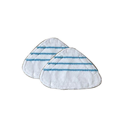 True & Tidy MP-500 Mop Pad Replacement for STM-500 Steam Mop, 2 Pack