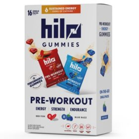 Hilo Pre-Workout Gummy (16 ct.)
