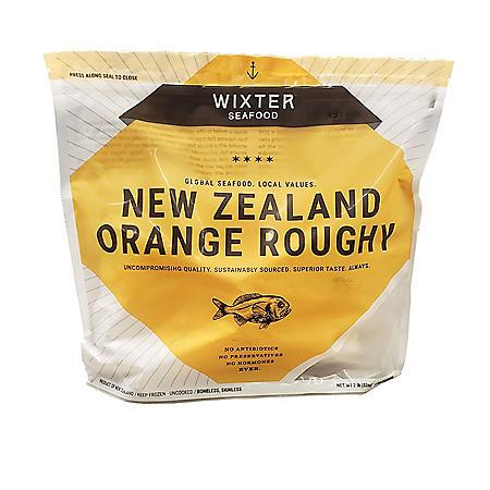 Frozen New Zealand Orange Roughy Fillet, 4-8 oz. portions (2 lbs.)
