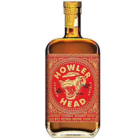 Howler Head Kentucky Straight Bourbon Whiskey Banana (750 ml)