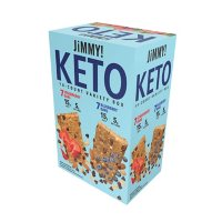 Jimmy! Keto Protein Bars Variety Pack, Strawberry and Blueberry (14 pk.)