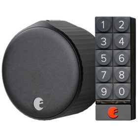 August Wi-Fi Smart Lock + Smart Keypad