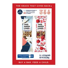 This Saves Lives Granola Bars, Variety Pack (20 ct.)