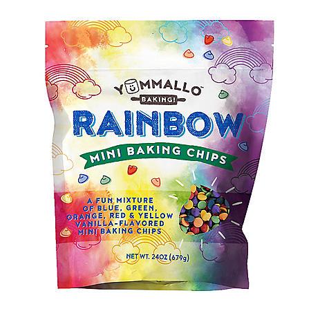Yummallo Mini Rainbow Baking Chips (24 oz.)
