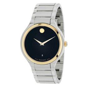 Movado Quadro Two-Tone Watch 0607394