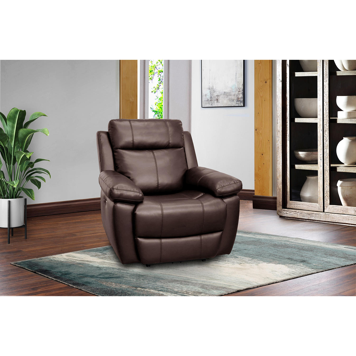 Jacob Power Recliner with Power Adjustable Headrest