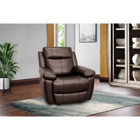 Jacob Power Recliner with Power Adjustable Headrest, Assorted Colors