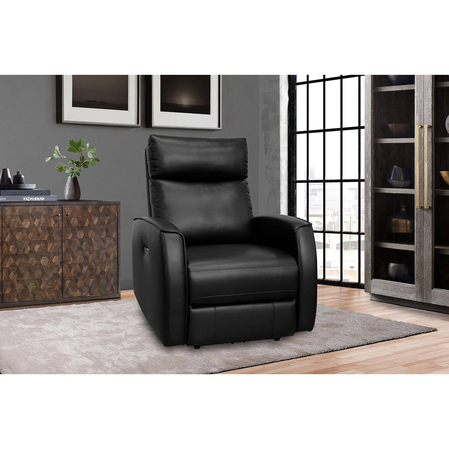 Porter Power Recliner with Power Adjustable Headrest