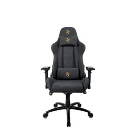 Verona Signature Soft Fabric Gaming Chair, Assorted Colors