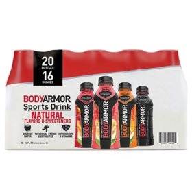 BODYARMOR Sports Drink Variety Pack (16 fl. oz. / 20 pk.)