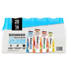 BODYARMOR LYTE Sports Drink Variety Pack (16 fl. oz. / 20 pk.)