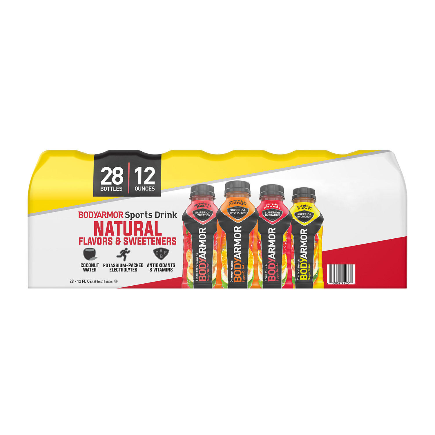 BODYARMOR Sports Drink Variety Pack (12 fl. oz., 28 pk.)