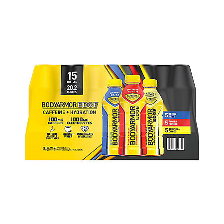 BODYARMOR EDGE Sports Drink Variety Pack (20 fl. oz., 15 pk.)