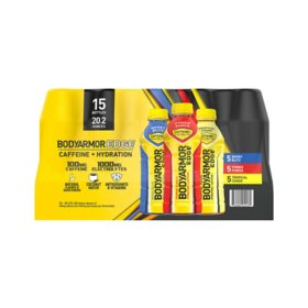 BODYARMOR EDGE Sports Drink Variety Pack (20 fl. oz., 15 pk.)