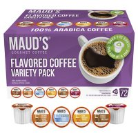 Maud's Gourmet 100% Arabica Flavored Coffee, Variety Pack (72 ct.)