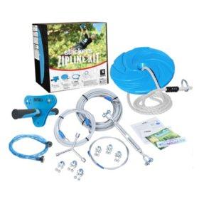 Slackers 70' Zipline Hawk Kit with Spring Brake & Zip Quick Easy installation System